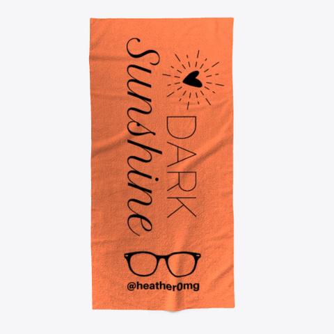 Dark Sunshine Coral T-Shirt Front