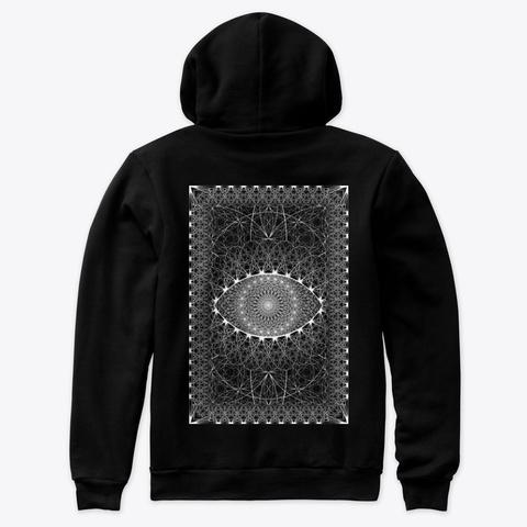 The Point Of Creation Black Camiseta Back