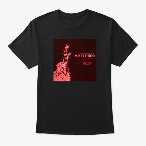 Normal Vampire Psychology Album Art Black T-Shirt Front