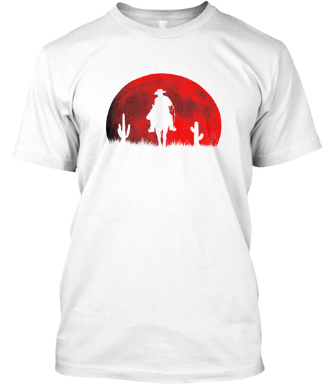 Blood Moon   Legacy Killa Hd White T-Shirt Front