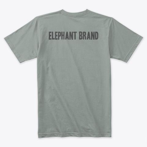 Elephant Shadow Warm Grey T-Shirt Back