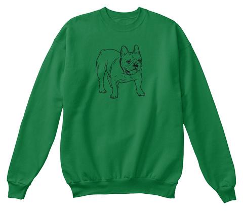 American Pitbull  Kelly Green  T-Shirt Front