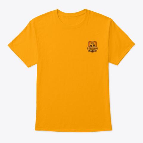Full Color St Dane's Logo Gold T-Shirt Front