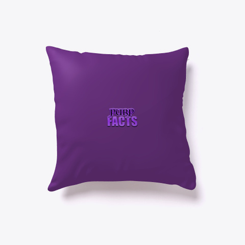 Purpz Merch Purple T-Shirt Back