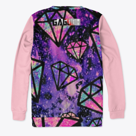 Sweatshirt   6, Space Collection Pink T-Shirt Back