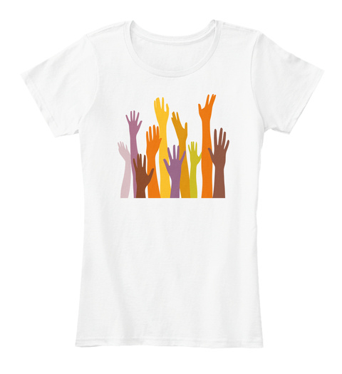 Help Each Others Beautiful T'shirt White T-Shirt Front