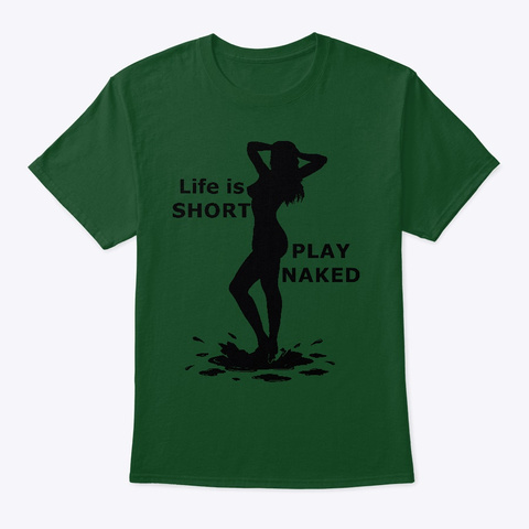 Play Naked Deep Forest T-Shirt Front
