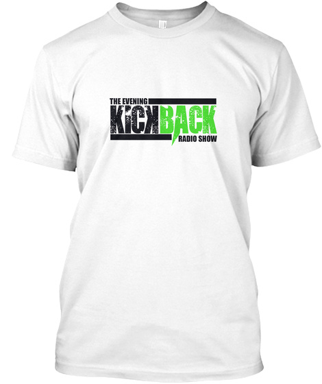 Official Evening Kickback T Shirt White T-Shirt Front