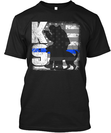 Ks Black T-Shirt Front
