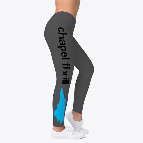 Chapel Hill Thrill Yoga Pants Charcoal T-Shirt Right