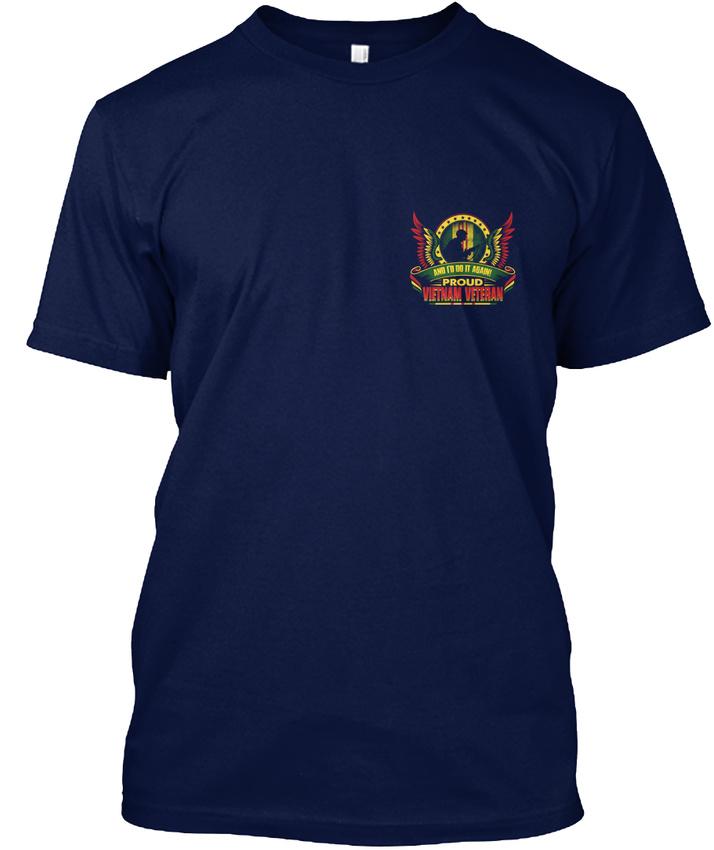 Vietnam-Veteran-Proud-I-Hanes-Tagless-Tee-T-Shirt thumbnail 10
