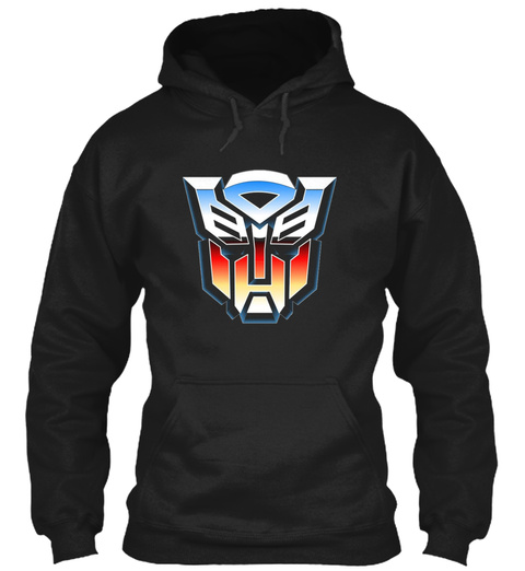 Transformers Black T-Shirt Front
