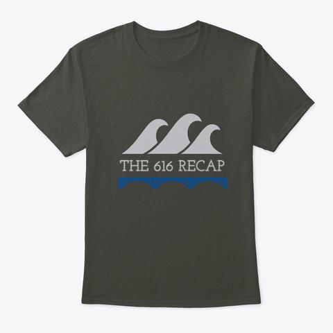 The 616 Recap Smoke Gray T-Shirt Front