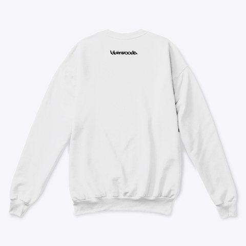 Idc Rolling Eyes White  T-Shirt Back