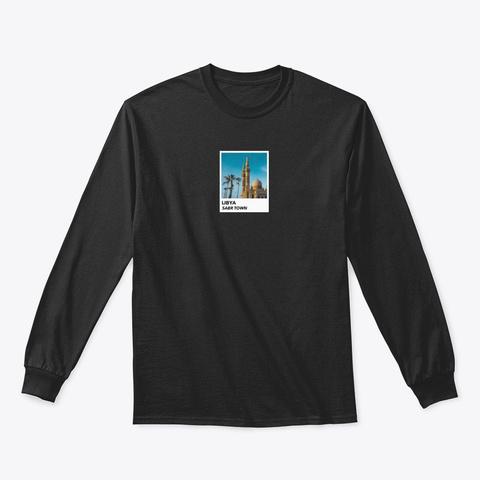 Libya Black T-Shirt Front