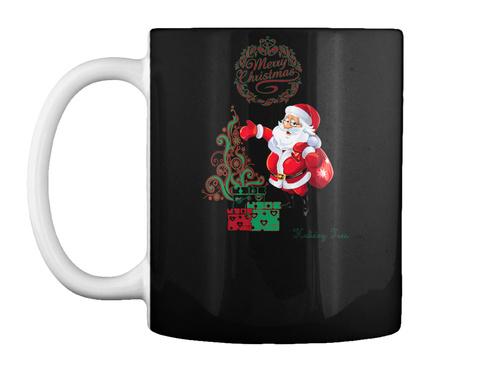 Holiday Tees Black Mug Front