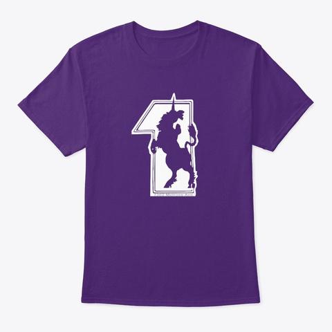 1 Los Angeles Purple T-Shirt Front
