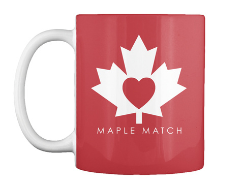 Maple Match Mug Bright Red T-Shirt Front