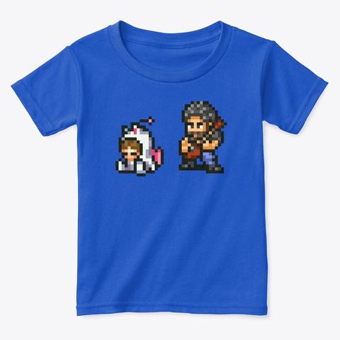 Family Friendly Vi Royal  T-Shirt Front