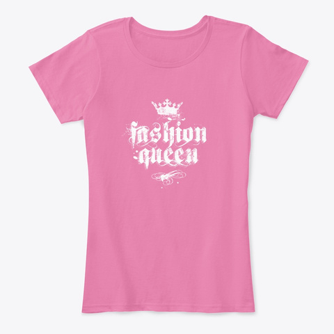 T Shirt & More For Little  Big Queens True Pink T-Shirt Front