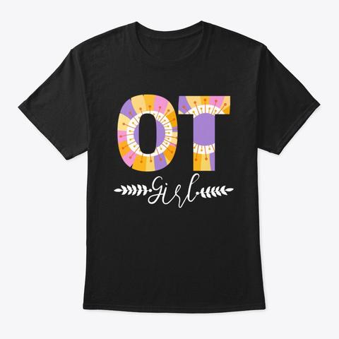 Ot Girl Black T-Shirt Front