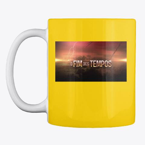 O Fim Dos Tempos  Lemon Yellow T-Shirt Front