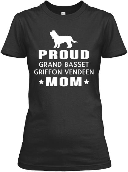 Grand Basset Griffon Vendeen Black T-Shirt Front