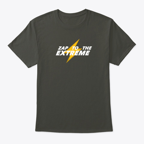 Sonichu   Zap To The Extreme Smoke Gray T-Shirt Front