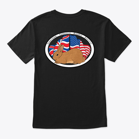 Agrs Apparel Shop Black T-Shirt Back