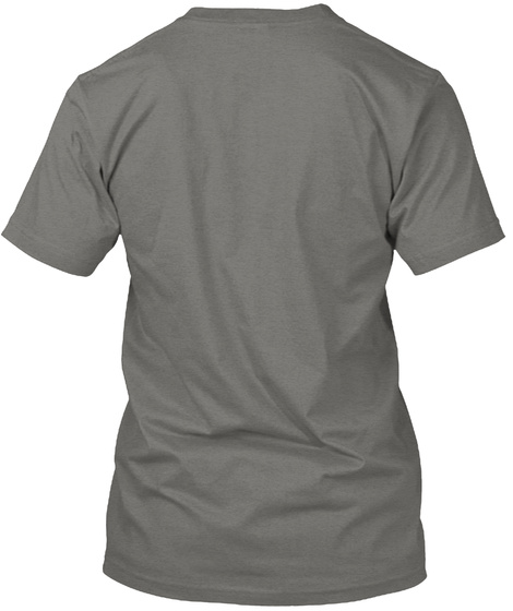Support Your Favorite Podcast. Grey T-Shirt Back