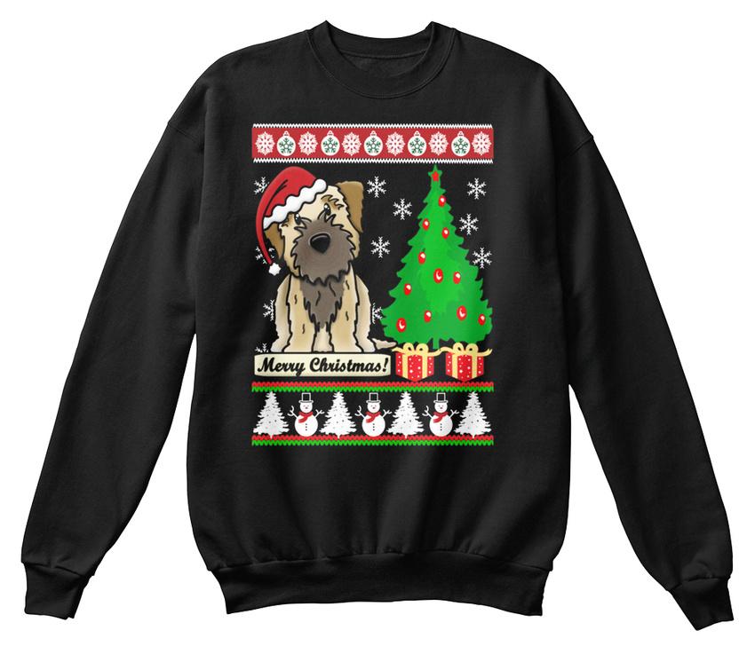 Noël Joyeux Confortable Border Sweat Terrier shirt de Cadeaux Iwx6qP455