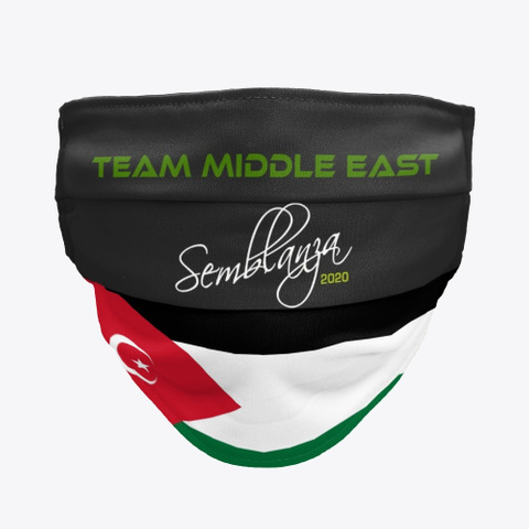Team Middle East! Black T-Shirt Front