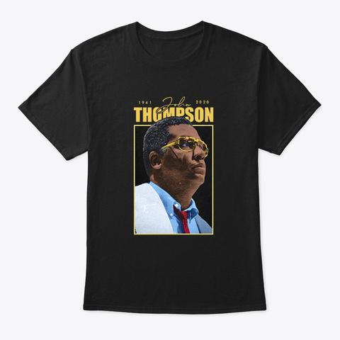 John Thompson Shirt Black T-Shirt Front