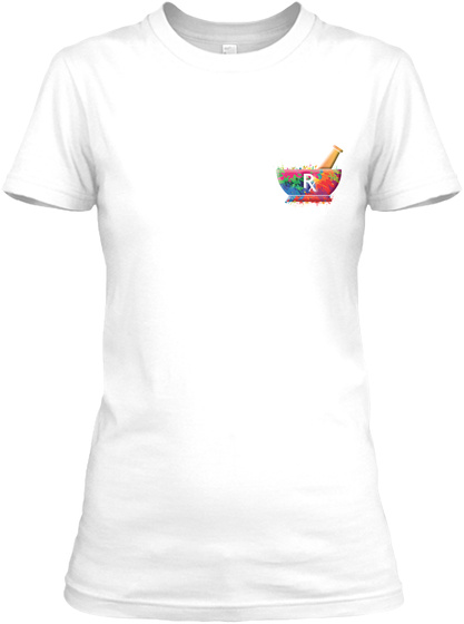 Awesome Pharmacy Technician Shirt White T-Shirt Front