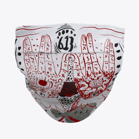Shefa Tal Mask Design Standard T-Shirt Front