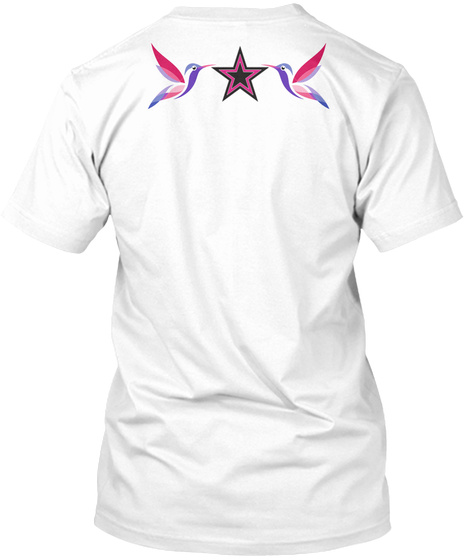 Design T  Shirt White T-Shirt Back