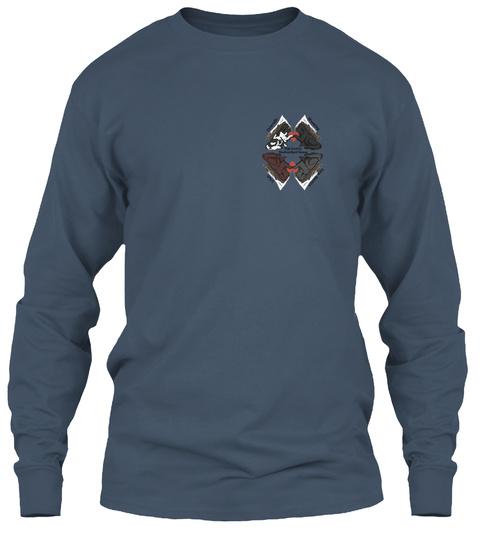 Hcnr 2018 Fall T Shirt Campaign Indigo Long Sleeve T-Shirt Front