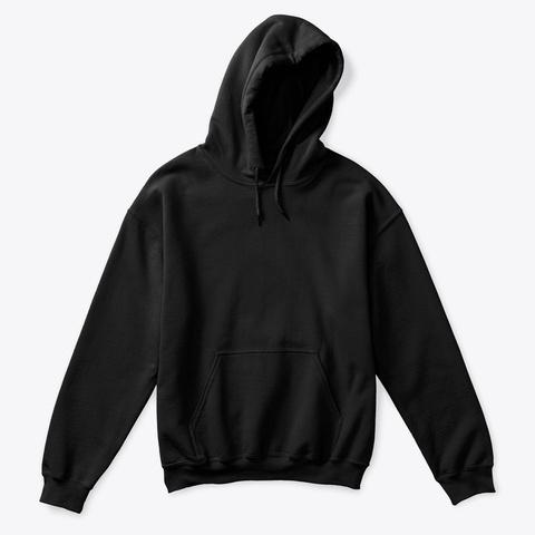 How Expert Classic/Plain Kids Hoodie Black T-Shirt Front
