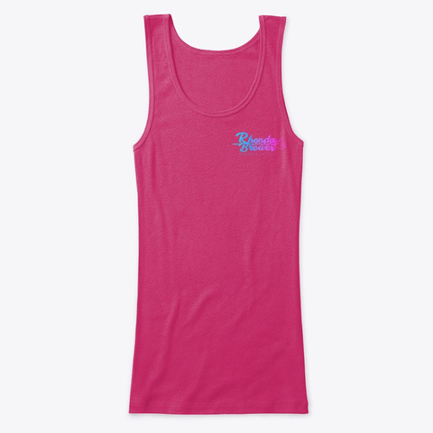 Jack's Place Tank Top Berry T-Shirt Front