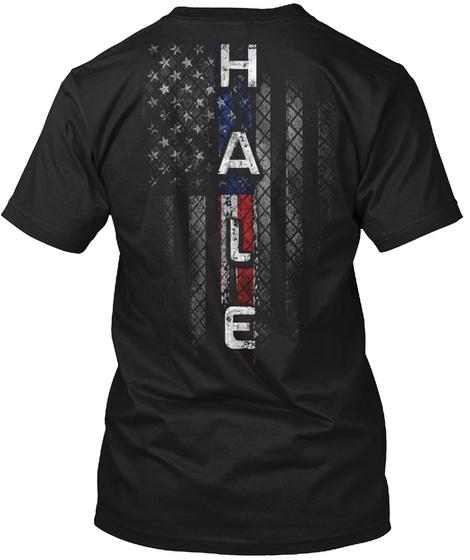 Hale Black T-Shirt Back