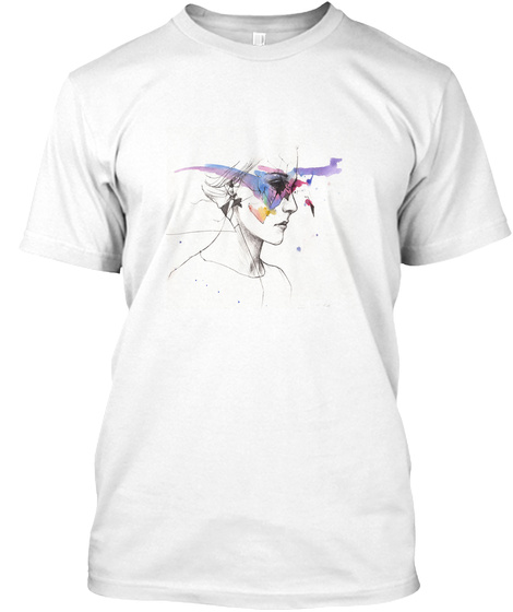 Note It Is A New Brand From New Orleans  White T-Shirt Front