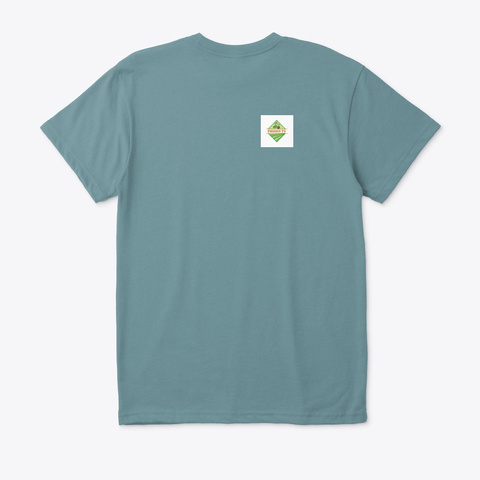 Pho Nui Tv Heather Pacific T-Shirt Back