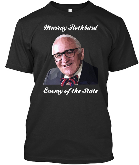 Enemy Black T-Shirt Front