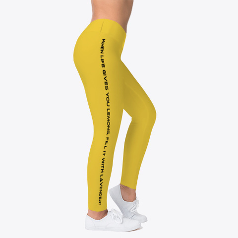 L&L Leggings, Hoodie And I Phone Case Yellow T-Shirt Right