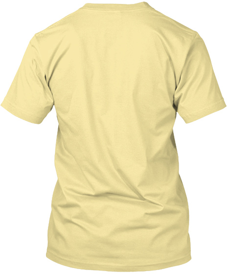 The Golden God Banana Cream T-Shirt Back