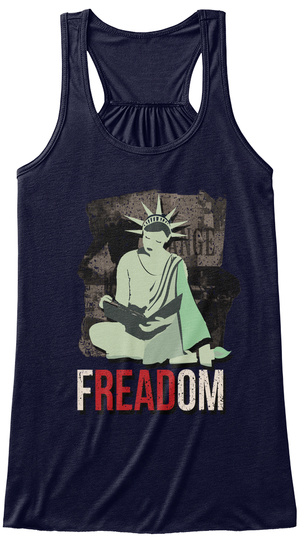 Freadom Midnight Women's Tank Top Front