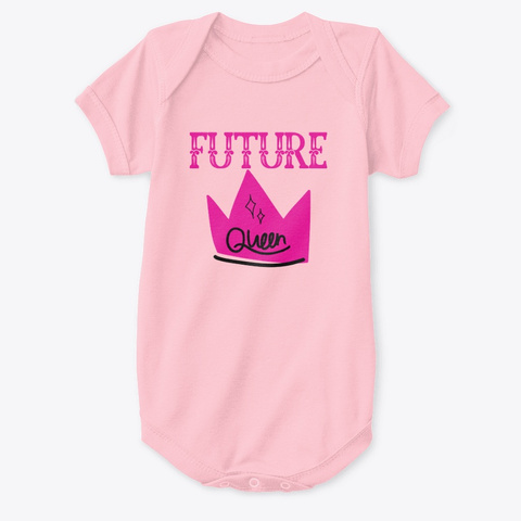 Future Queen Pink T-Shirt Front