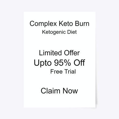 Complex Keto Burn® Free Trial Offer Standard T-Shirt Front