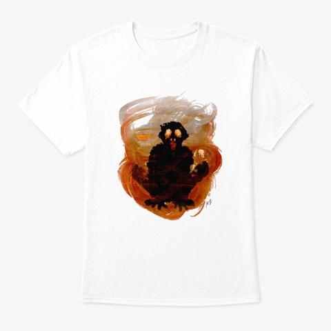 Hellish White T-Shirt Front
