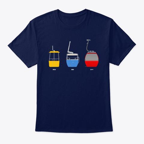 Gondola Evolution Full Color Navy T-Shirt Front